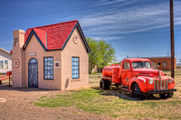 Route 66 Filling Station and Fuel Truck - HDR