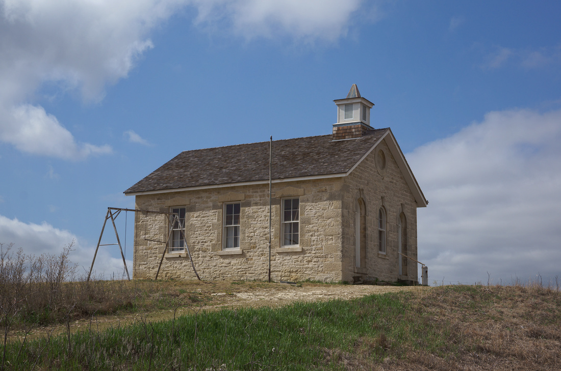 Lower Fox Creek School, Tallgrass Prairie, KS